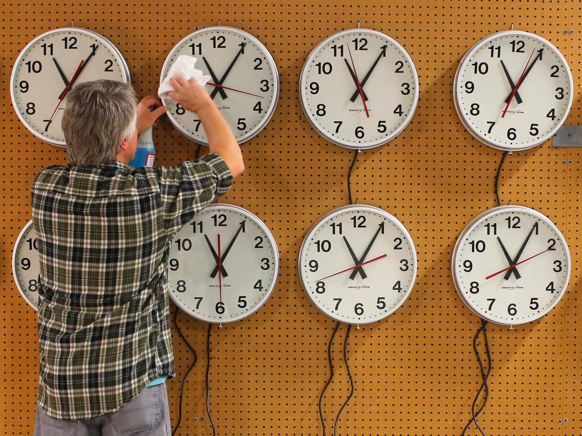 daylight saving time dst