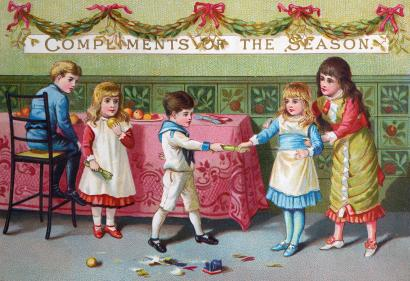 The History Of Christmas Greeting Cards From The