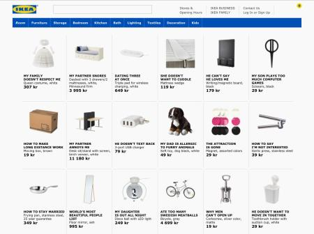 How Ikea Names Its Products The Curious Taxonomy Behind