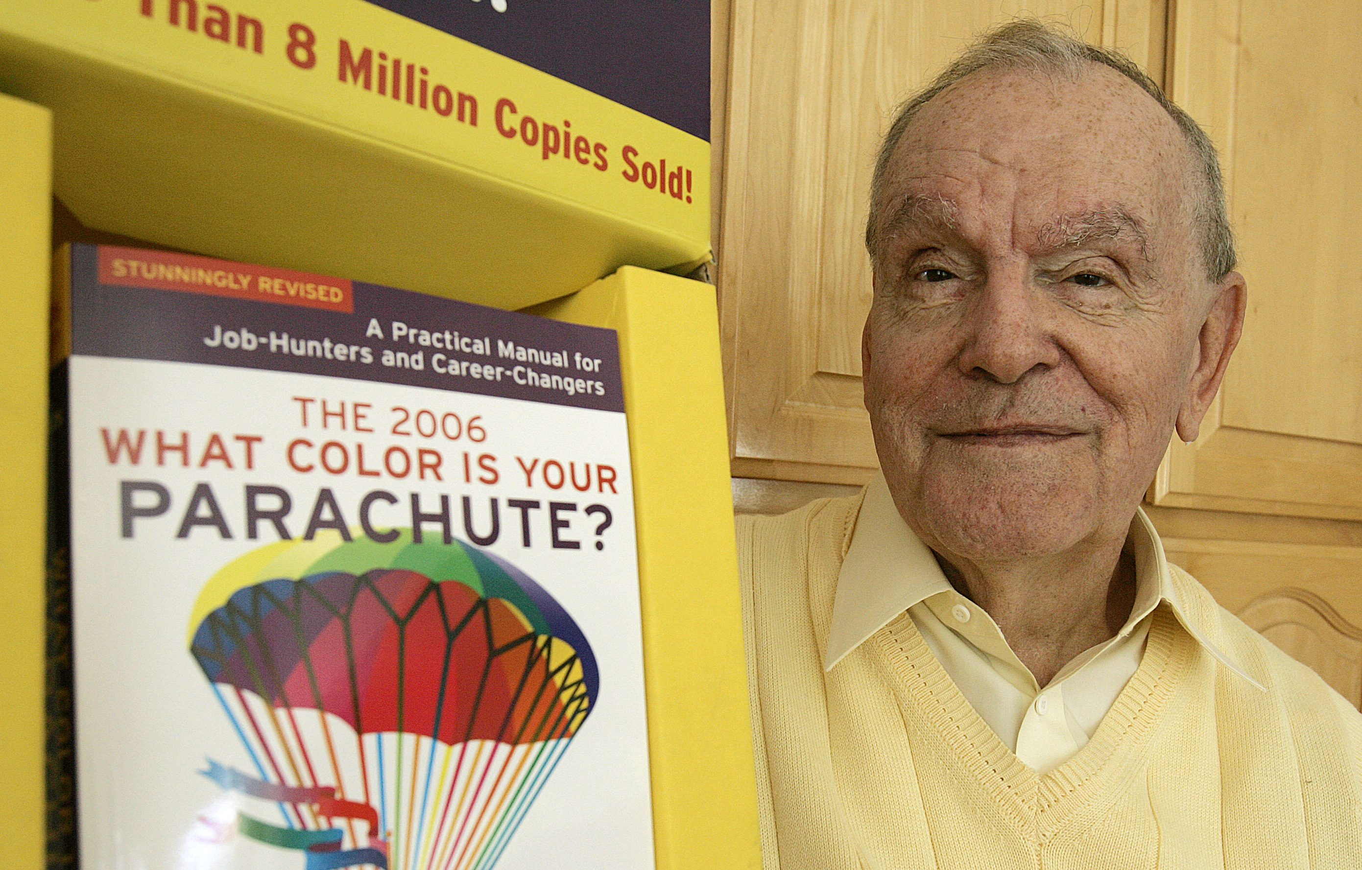 what color is your parachute flower diagram one wire alternator wiring ford author richard bolles has died his job search guru march 31