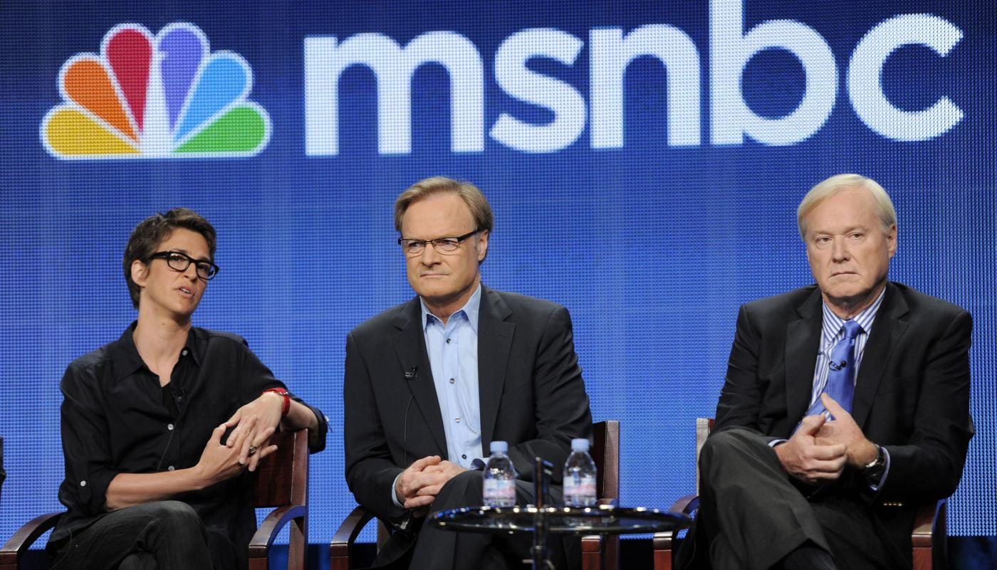 With Fox News In Flux Msnbc Is Courting Conservative