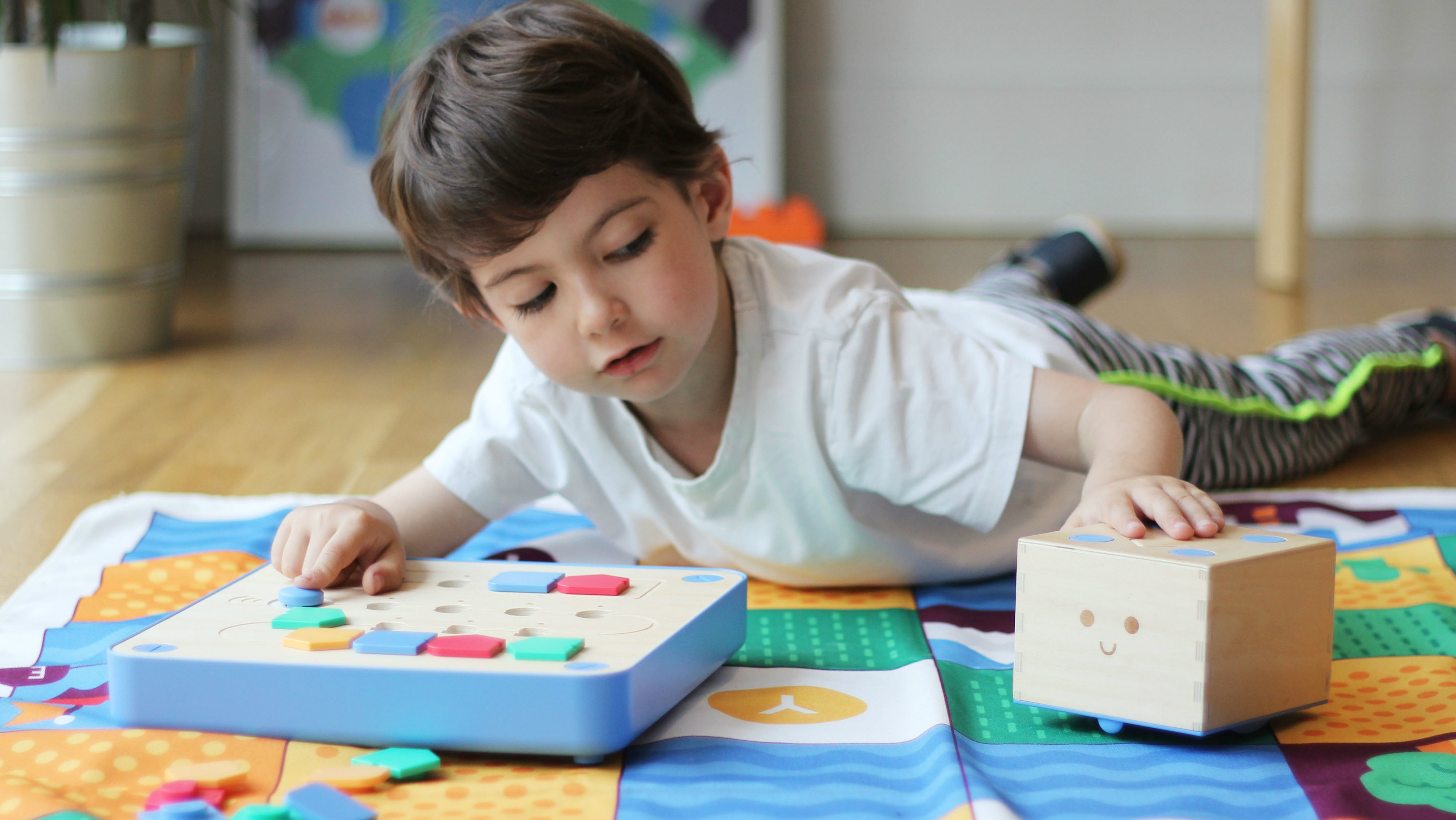 This Montessori Inspired Wooden Robot Teaches Toddlers How