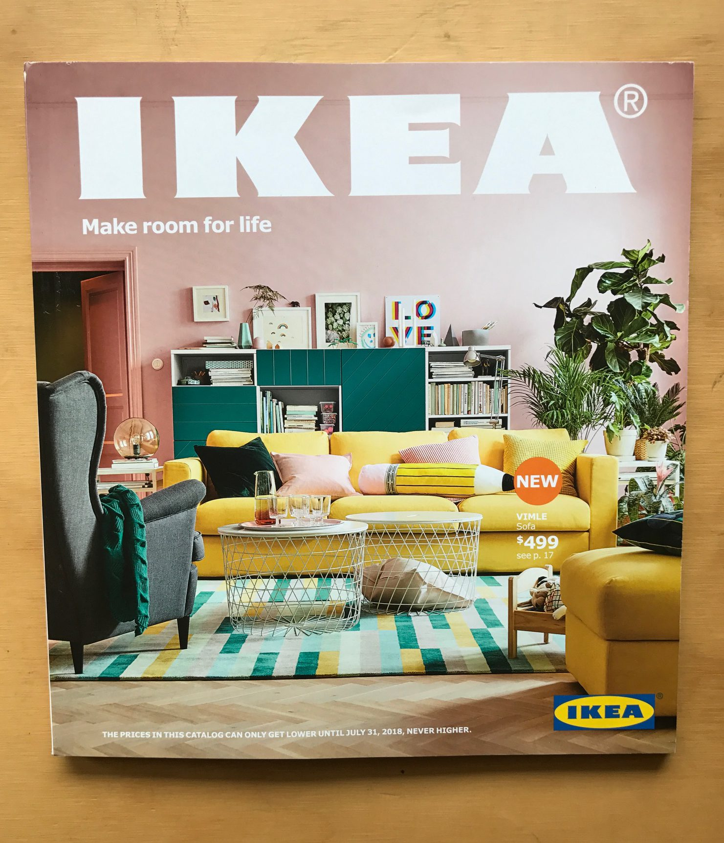 Ikea Catalogue 2018 Defining Domestic Bliss In Different