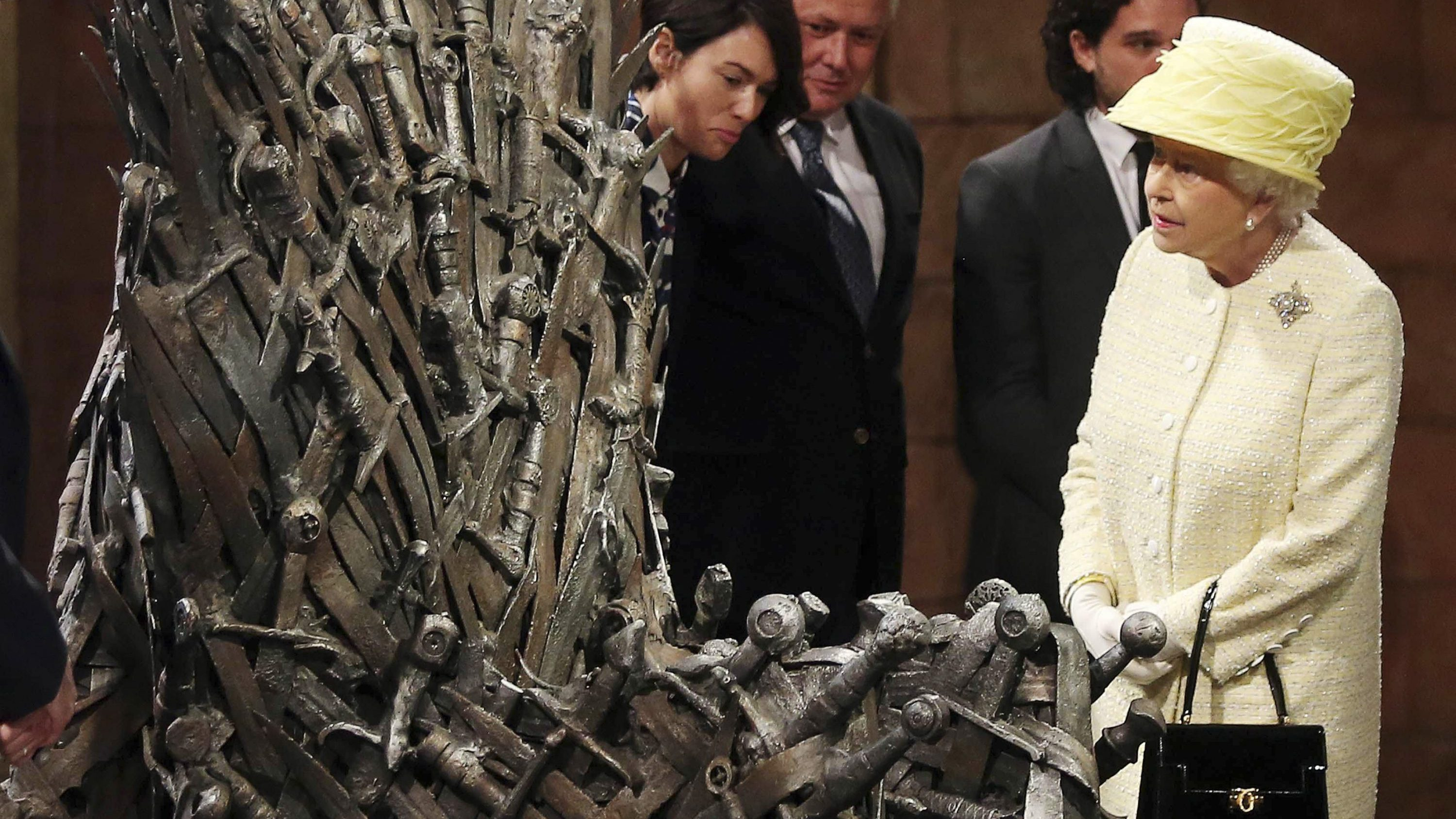 iron throne chair low seated concert chairs who will win the in game of thrones real life no queen elizabeth and