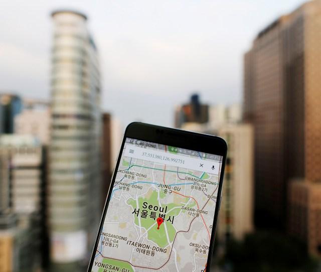 Google Maps Seoul