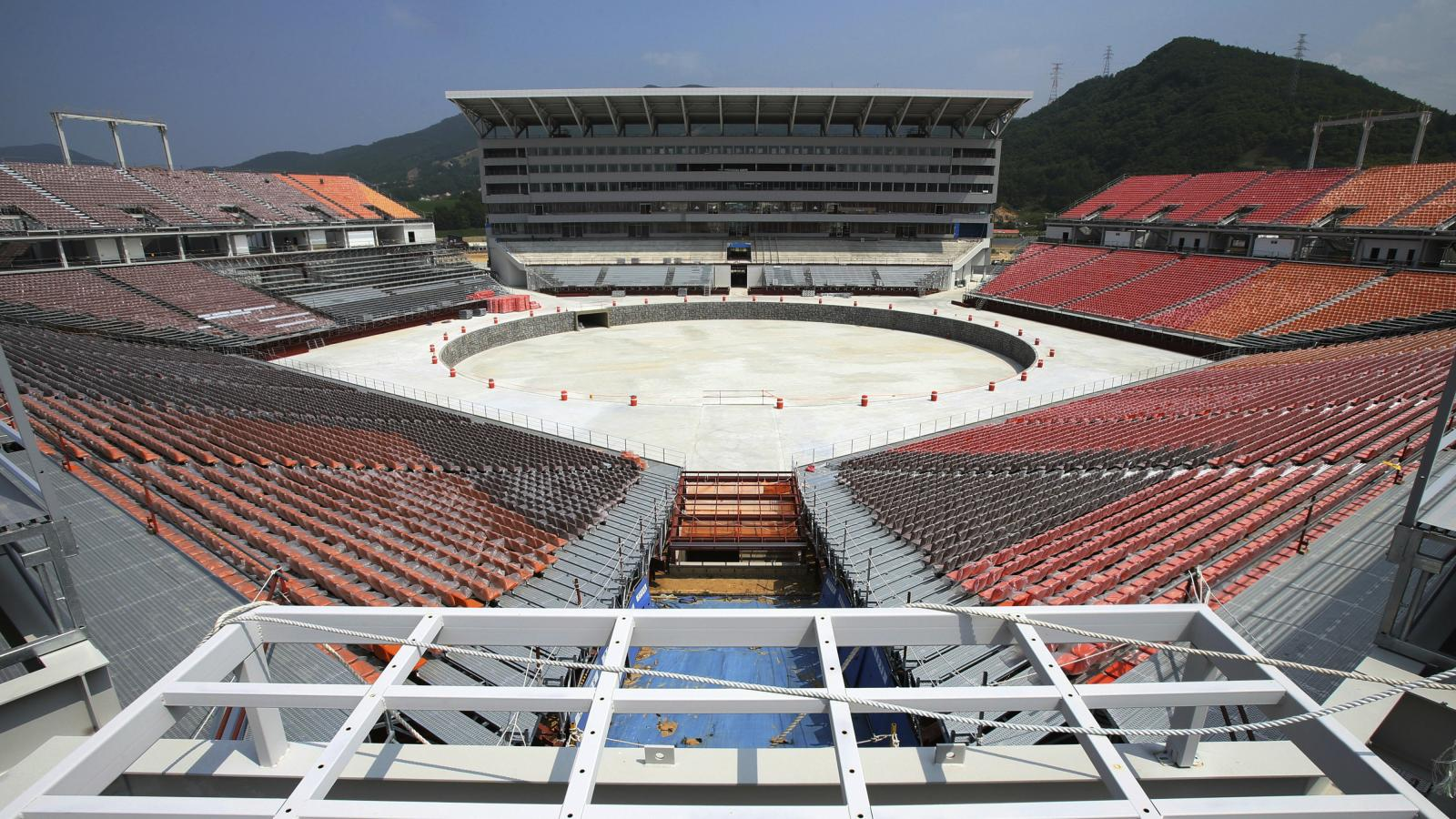 hight resolution of winter olympics 2018 south korea s 100 million pyeongchang stadium will be used four times quartz