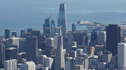 the salesforce tower makes