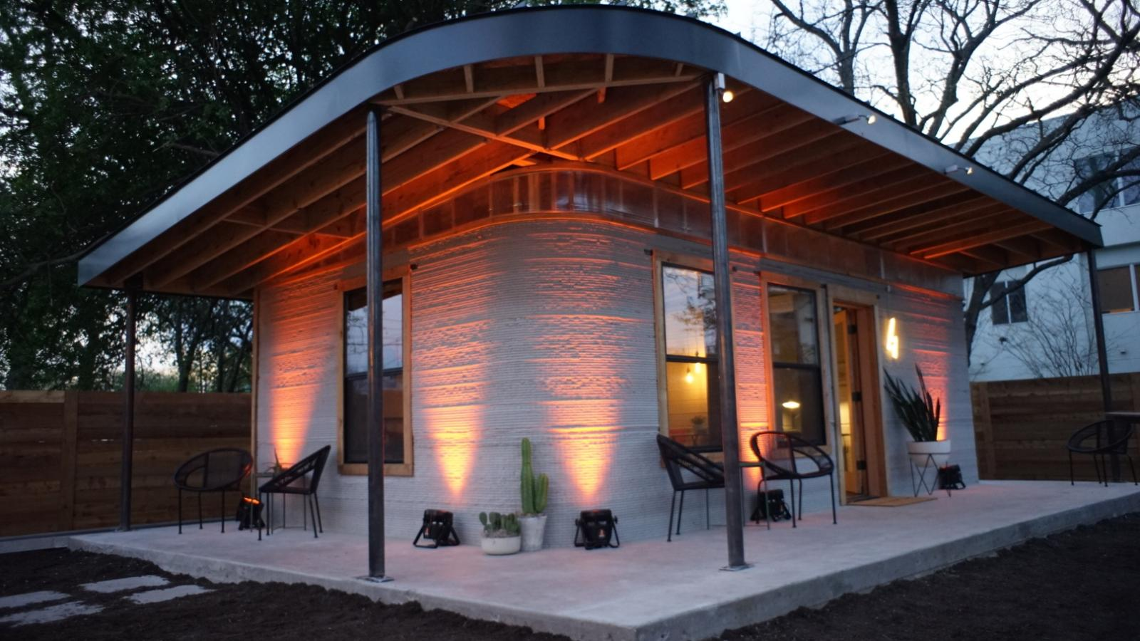 you can now 3d print a house in under a day [ 1600 x 900 Pixel ]