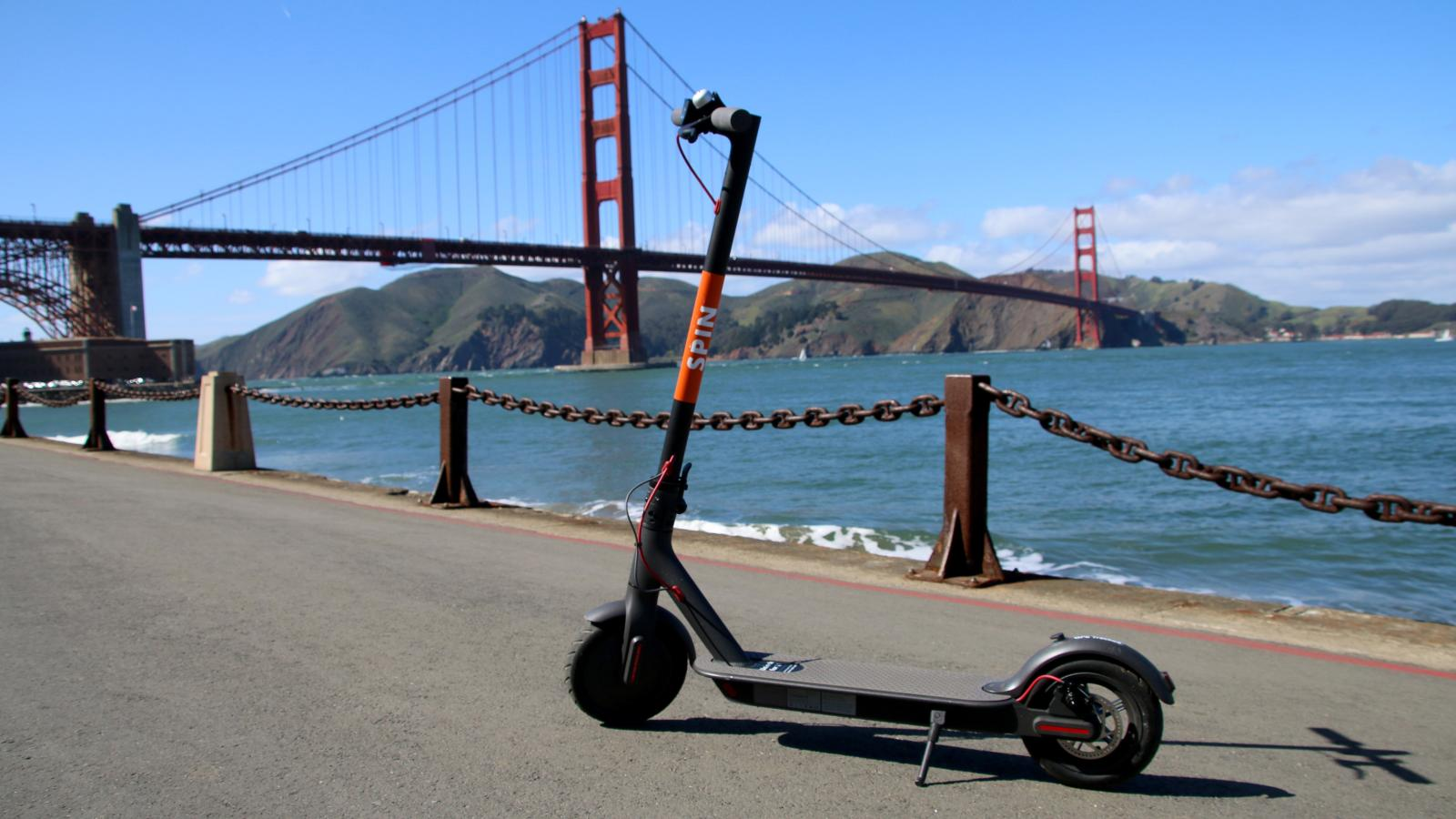 electric scooters from bird spin and limebike are taking over california here s everything you need to know quartz [ 1600 x 900 Pixel ]