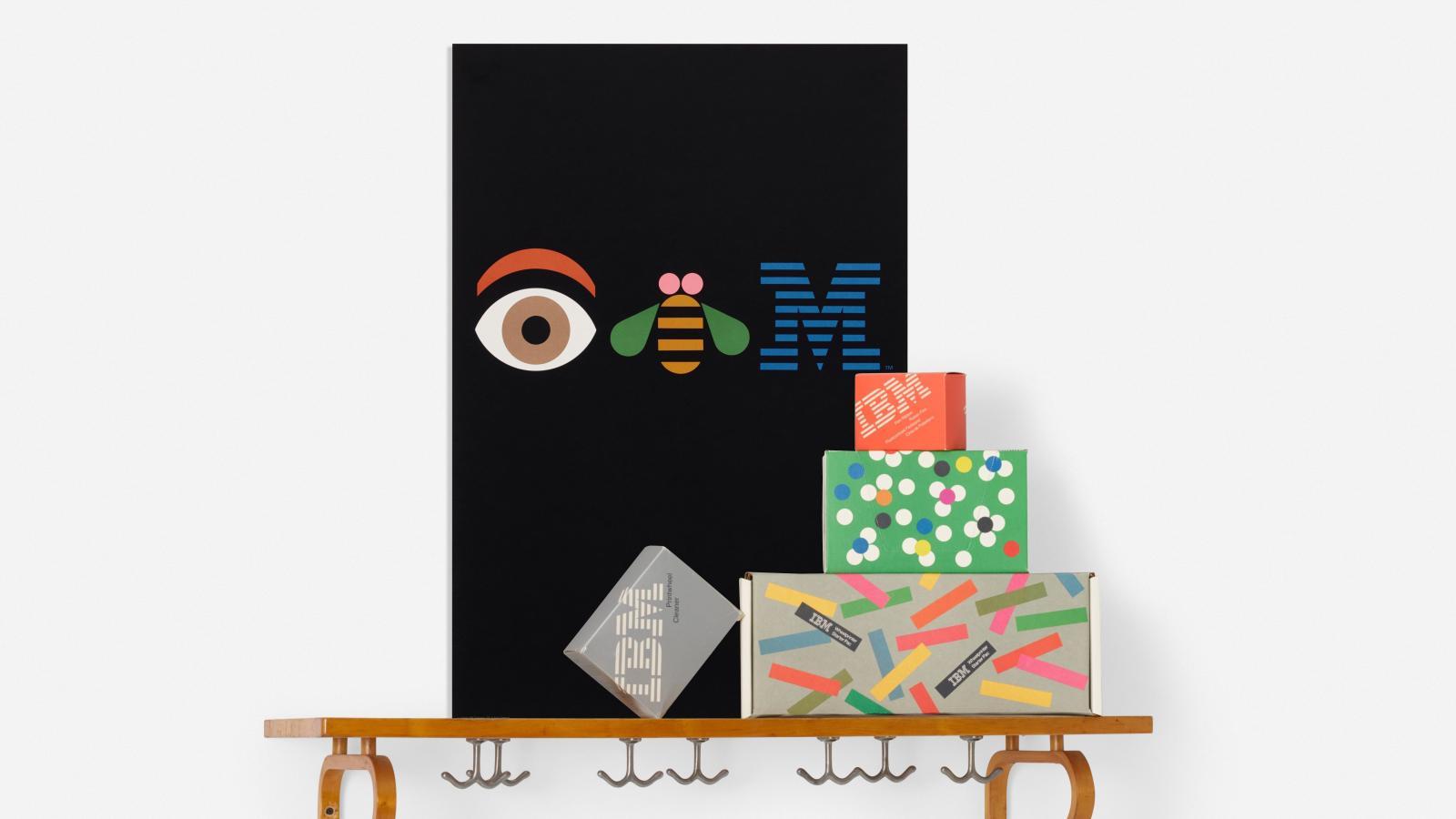 ibm logo designer paul