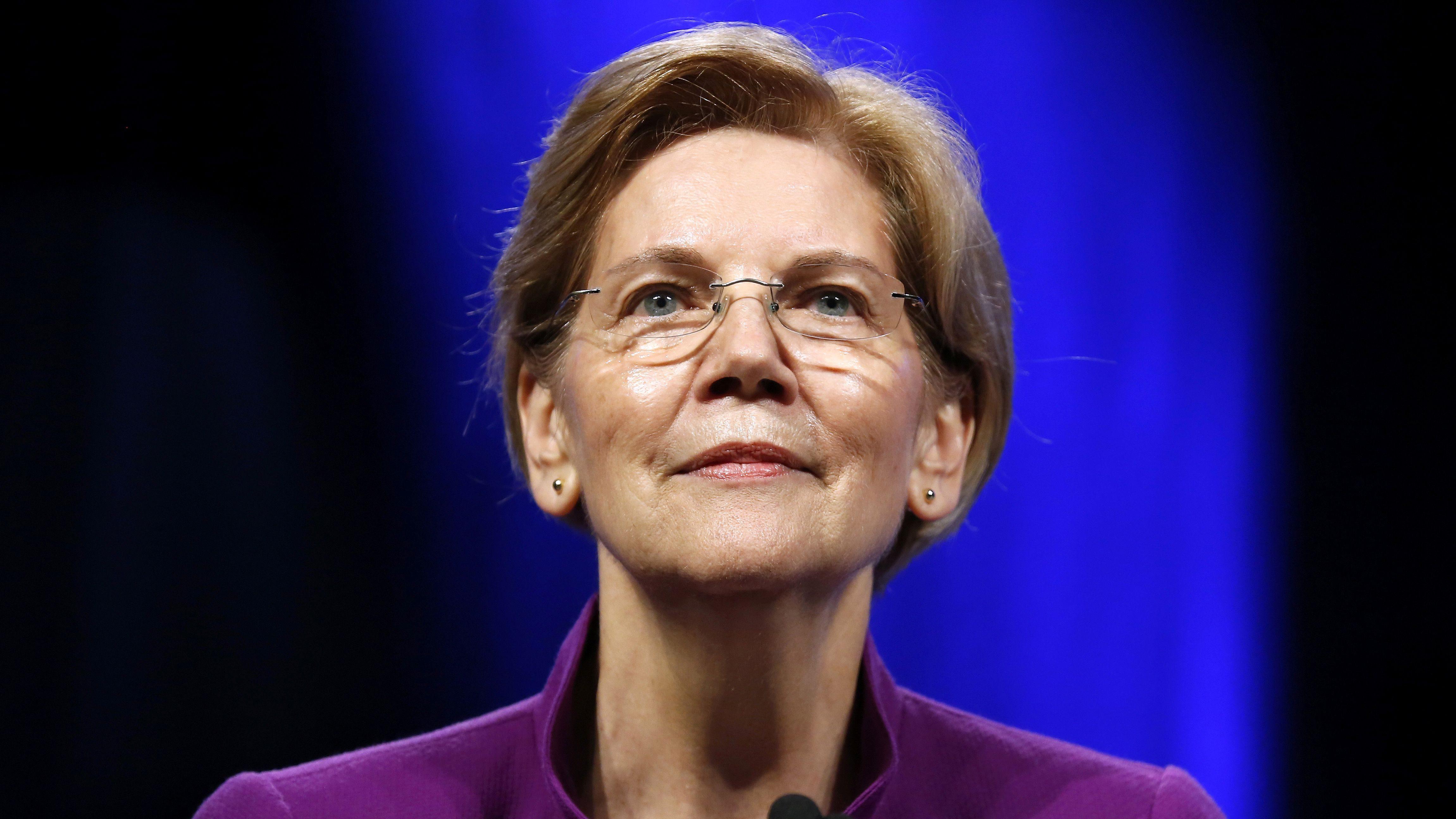 Elizabeth warren   dna results suggest she has native american ancestry quartz also rh qz