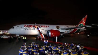 kenya airways starts first