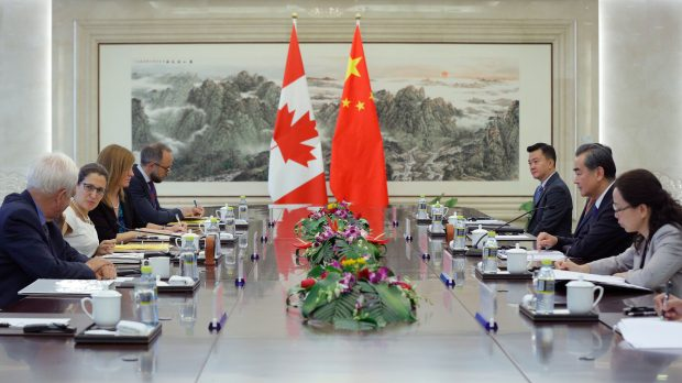 Image result for china retaliate detained canada officer