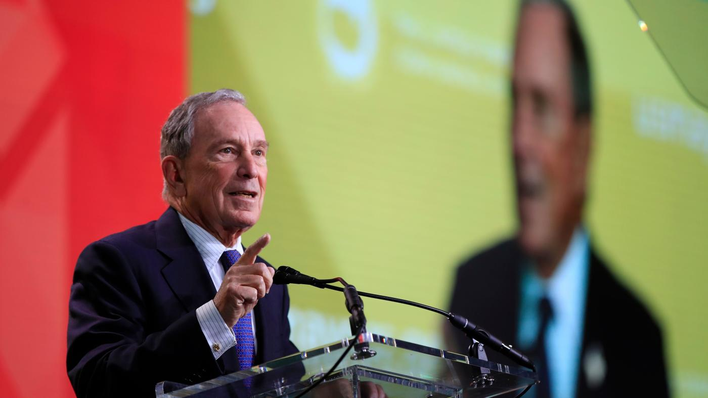 Mike Bloomberg Says He Won T Run For President As An