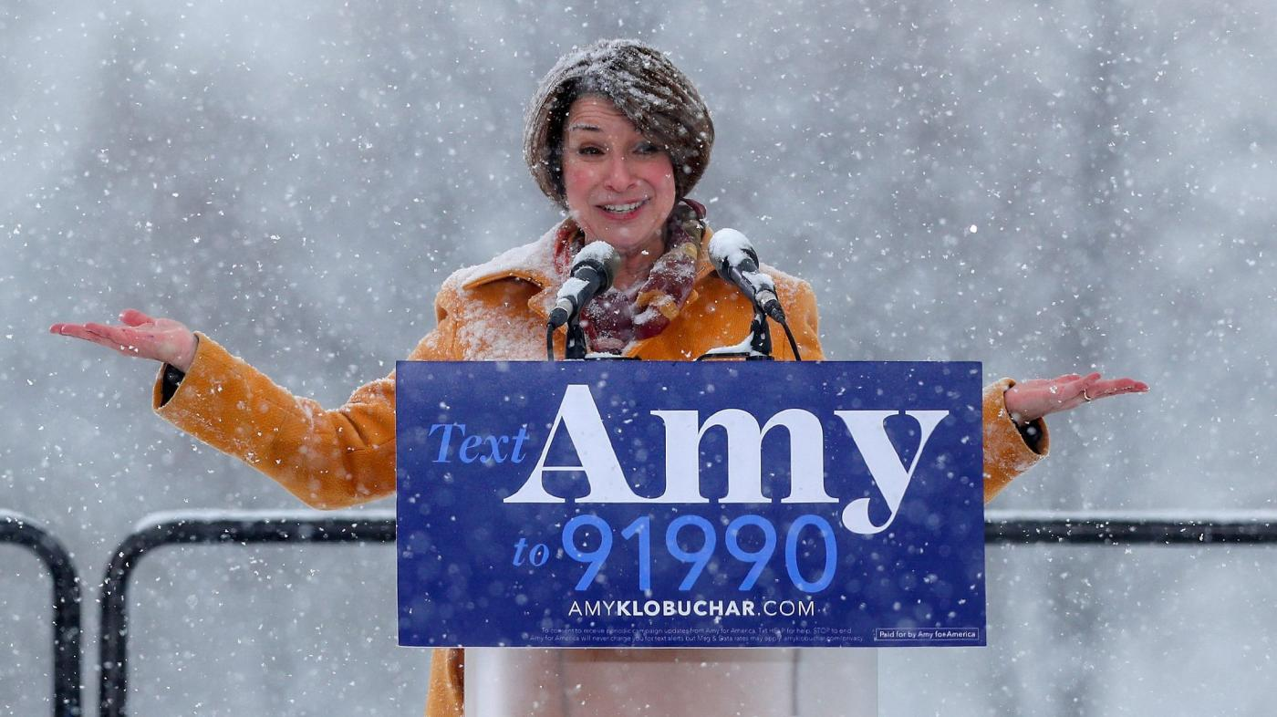 Amy Klobuchar S Parental Leave Policy For Staff Is
