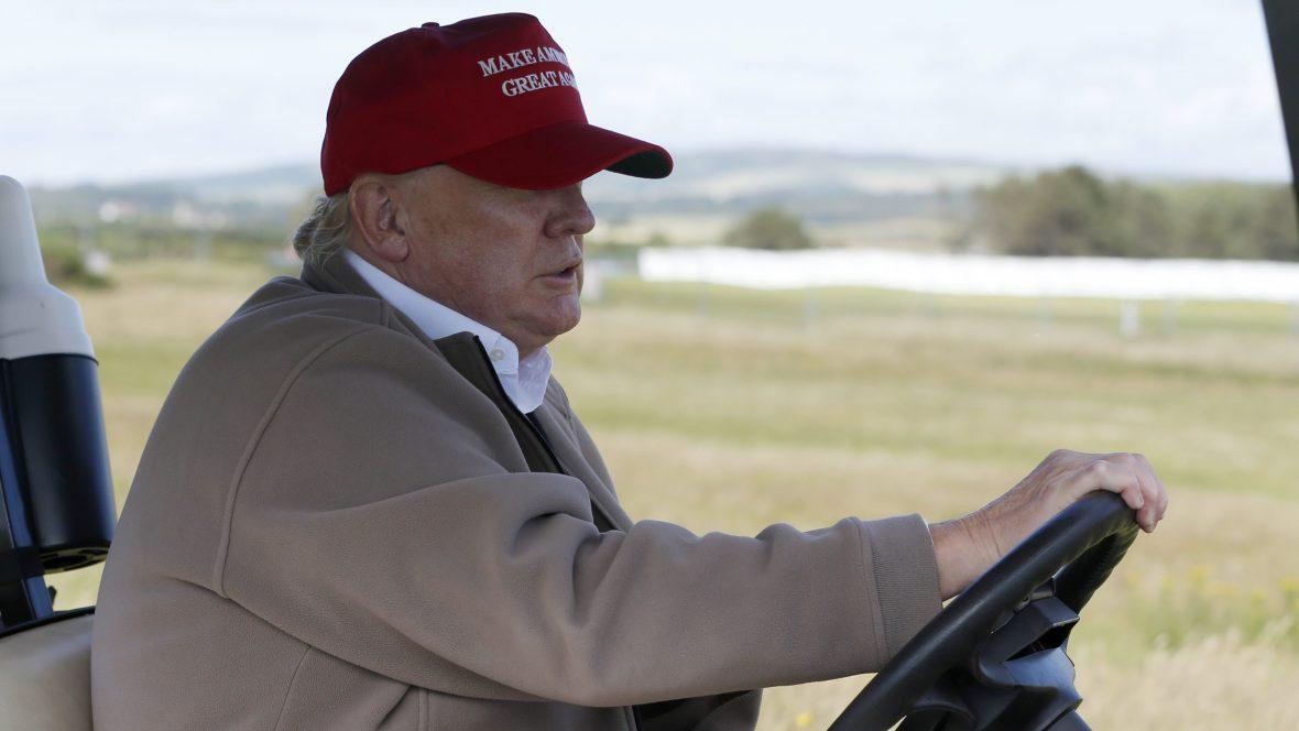 Trump golf cart rentals have now cost US taxpayers $550,000 — Quartz