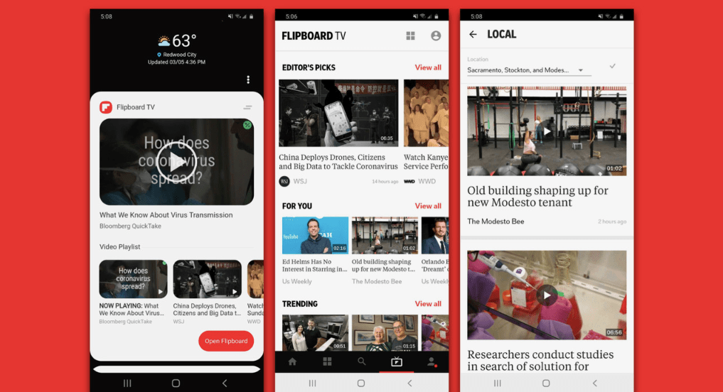 Can Flipboard TV save the news from YouTube? — Quartz