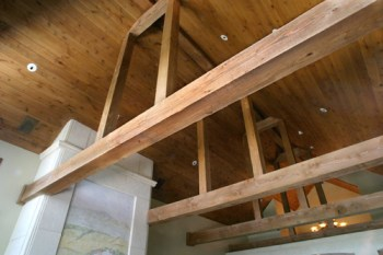 Real Cedar Timbers Indoor Finishing