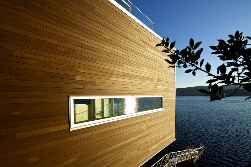 Tongue and Groove Cedar Siding Lake View