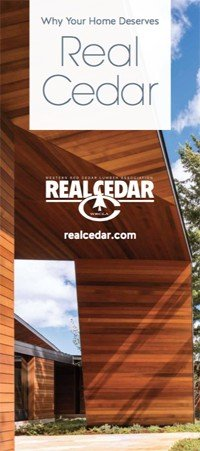 Why Your Home Deserves Real Cedar