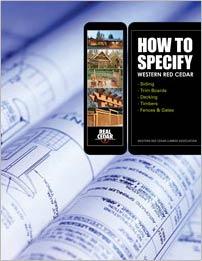 How to Specify Western Red Cedar