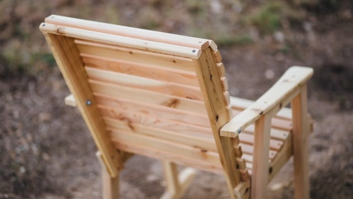 Rocking Chair DIY