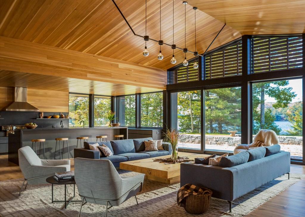 western red cedar interior paneling