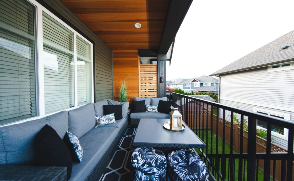 cedar deck ceiling paneling and siding