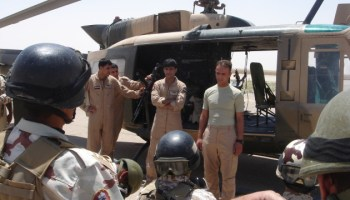 Flying with the Iraqi Air Force (You're Special Forces so suck it up!)