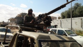 An American Freedom Fighter in the Libyan Civil War: Part 2