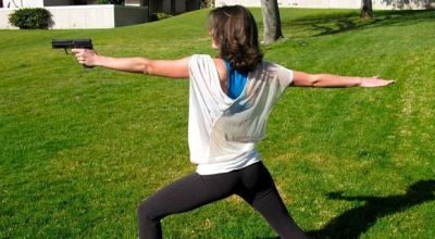 Women's Self Defense Weekly: The Benefits of Yoga and Shooting