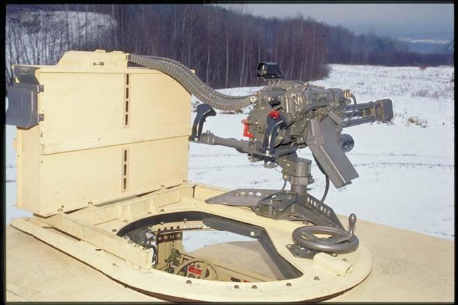 GAU-19 HMMWV Mounted