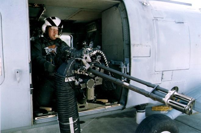 GAU-19/A Mounted on SH-60