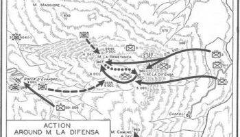 Map of La Defensa