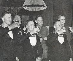Operation Jaywick members celebrate their triumph