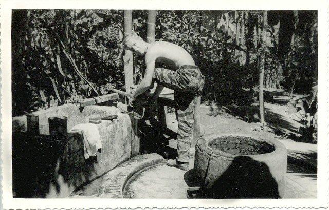 Staff Sgt. Jerry Shriver (Mad Dog), U.S. Army Special Forces, Detachment A-502 Republic of Viet Nam 1966