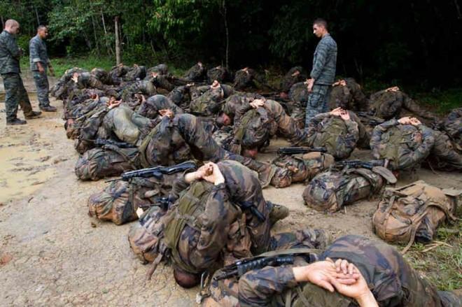 Jungle training in French Guyana 2012