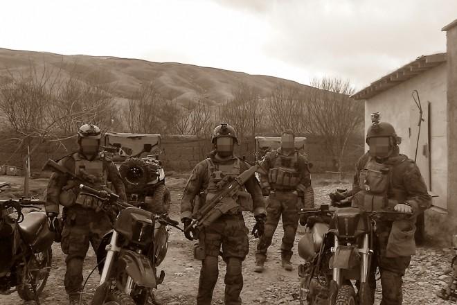 MSOT operating deep inside of Afghanistan