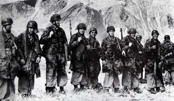 German Paratroopers on the Gran Sasso Raid