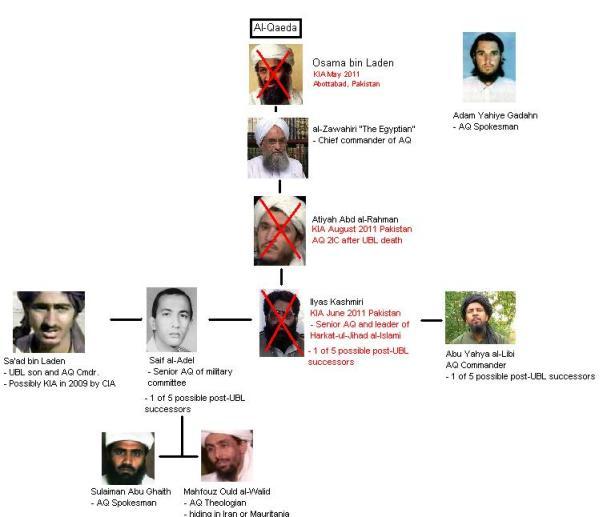 al-Qaeda in 2011