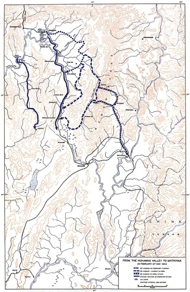 Hukawng Valley map