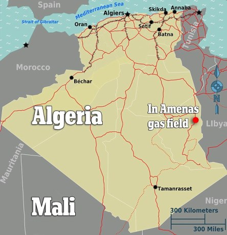 Map: Americans Taken Hostage in Algeria Terror Attack