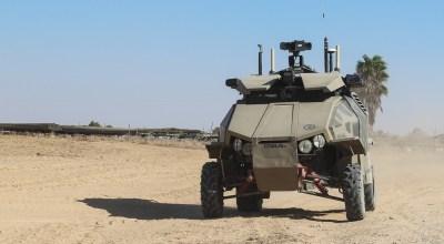 The Guardium UGV – The IDF Unmanned Ground Vehicle