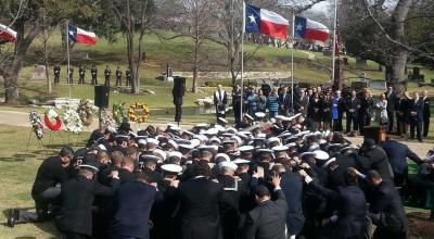 A Navy SEAL Sniper is Laid to Rest: Dark Times & The Light of Texas