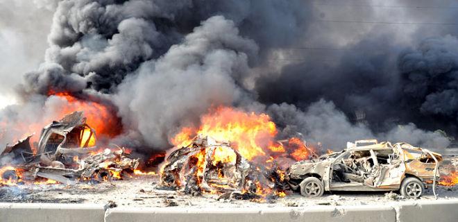 Al-Nusra car bombs unleash hell in Damascus, Syria (Courtesy: guardian.co.uk)