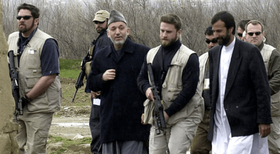 Karzai: Spilling Vomit To Save His Own