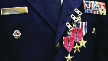 PJ awarded Silver Star and 2 Bronze Stars, Summits Denali