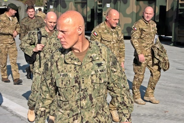 The commander of NATO Special Forces on a visit to DWS (Dowództwo Wojsk Specjlanych - Special Operations Command)