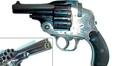 Weird Gun Wednesday: The Pistola Con Caricato Revolver