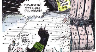 Mainstream Media News Is Failing America, Not SEAL Team 6